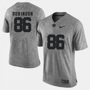 Gridiron Limited A'Shawn Robinson Alabama Jersey Gridiron Gray Limited Men's #86 Gray 143613-481