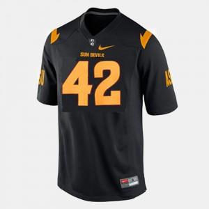 #42 Pat Tillman ASU Jersey Mens College Football Black 422732-267