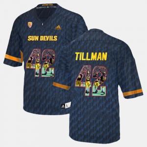 For Men's Black Pat Tillman ASU Jersey Player Pictorial #42 616576-221