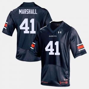 #41 College Football Navy Men's Aidan Marshall Auburn Jersey 620027-974
