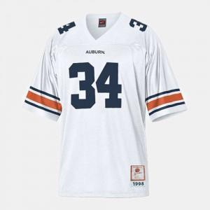 White #34 College Football Bo Jackson Auburn Jersey Kids 316519-278