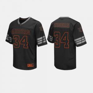 Black College Football #34 Mens Auburn Jersey 684436-647