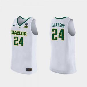 Chloe Jackson Baylor Jersey Ladies White 2019 NCAA Women's Basketball Champions #24 937222-539