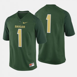 Baylor Jersey Green #1 College Football Mens 266241-765