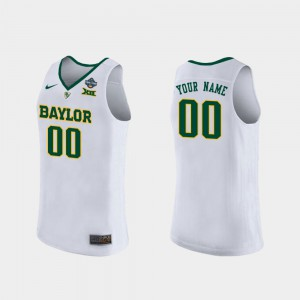 Baylor Custom Jersey White 2019 NCAA Women's Basketball Champions Womens #00 683649-654