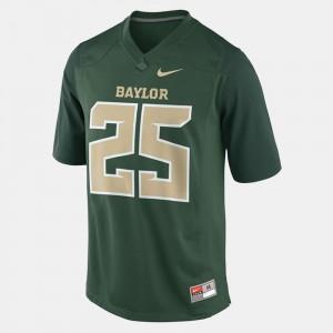 College Football #25 Mens Lache Seastrunk Baylor Jersey Green 426236-791
