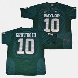 Robert Griffin III Baylor Jersey Green #10 Mens College Football 972834-593
