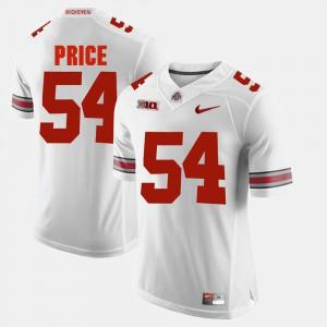#54 Alumni Football Game Billy Price OSU Jersey Men White 884378-178