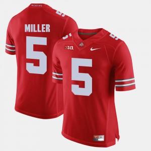 Braxton Miller OSU Jersey Scarlet Mens Alumni Football Game #5 615971-585