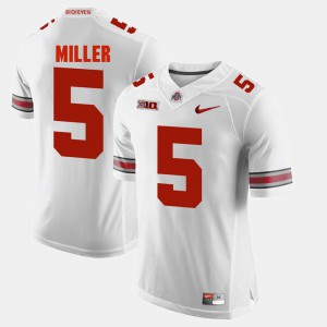 #5 White Alumni Football Game Braxton Miller OSU Jersey Men 143707-269