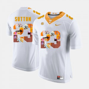 White For Men Pictorial Fashion Cameron Sutton UT Jersey #23 706009-481