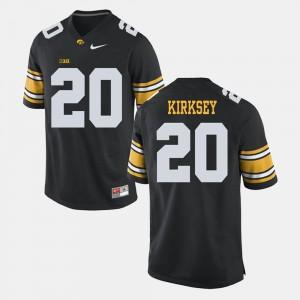 Black Christian Kirksey Iowa Jersey Alumni Football Game #20 For Men 290206-913