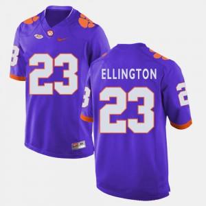 Andre Ellington Clemson Jersey College Football Purple Men's #23 983789-819