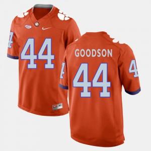 Orange College Football #44 Men B.J. Goodson Clemson Jersey 620111-996