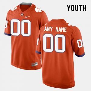 Orange College Limited Football Clemson Customized Jerseys Kids #00 965869-420