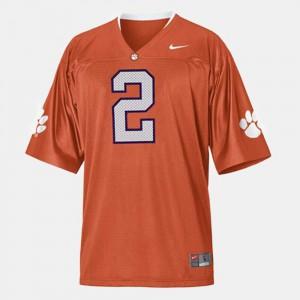 Youth(Kids) #2 Sammy Watkins Clemson Jersey College Football Orange 707994-150