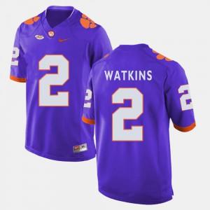 Sammy Watkins Clemson Jersey College Football #2 Purple For Men's 278469-923