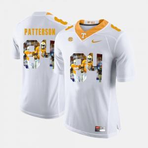 For Men's White Cordarrelle Patterson UT Jersey #84 Pictorial Fashion 313224-147