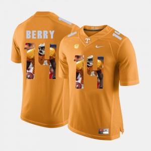 Pictorial Fashion #14 For Men Eric Berry UT Jersey Orange 470982-163