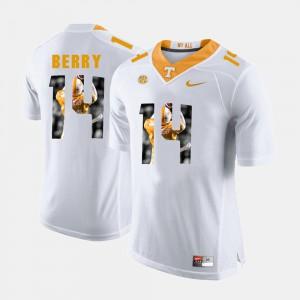 White Men's Pictorial Fashion Eric Berry UT Jersey #14 433939-181
