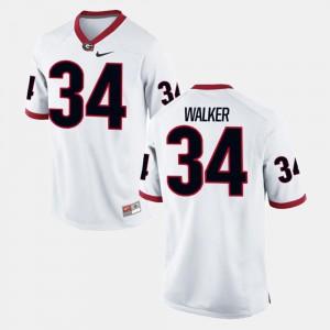 Herschel Walker UGA Jersey #34 Alumni Football Game For Men White 139463-993
