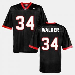 Herschel Walker UGA Jersey #34 Black For Men's College Football 631926-765