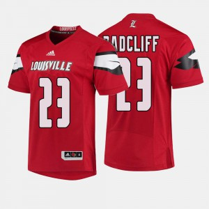 Brandon Radcliff Louisville Jersey #23 College Football For Men's Red 686142-592
