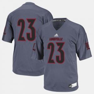 Louisville Jersey Black #23 College Football For Men 721395-234