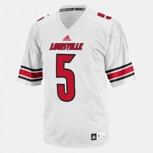 Kids Teddy Bridgewater Louisville Jersey College Football White #5 455590-410