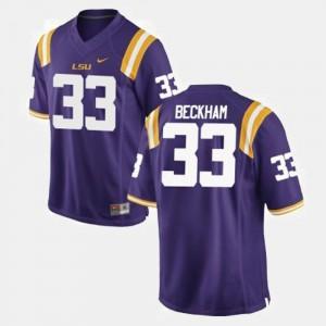 Odell Beckham Jr. LSU Jersey Purple Men #33 College Football 525481-750
