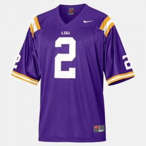 Rueben Randle LSU Jersey College Football Purple #2 Men's 220272-306
