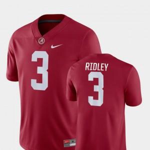 Crimson #3 Game Men Calvin Ridley Alabama Jersey College Football 161630-770
