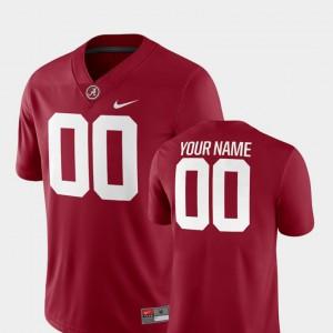 2018 Game Alabama Customized Jersey Crimson Men College Football #00 233007-753
