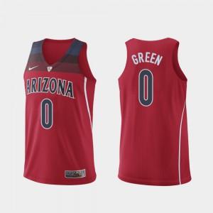 Josh Green Arizona Jersey Hyper Elite College Basketball #0 Red Men Authentic 729565-178