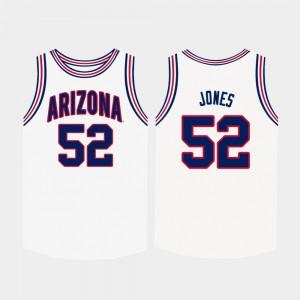Mens Kory Jones Arizona Jersey College Basketball #52 White 135490-677