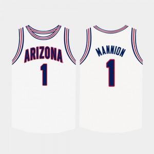 White College Basketball Nico Mannion Arizona Jersey #1 Men's 705204-402