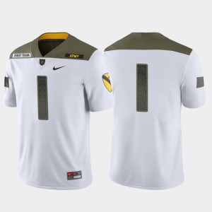 Army Jersey #1 White Limited Edition 1st Cavalry Division Mens 281886-980