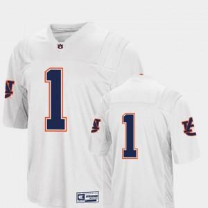 Men Colosseum White Auburn Jersey #1 College Football 111691-895
