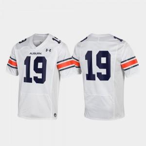 Auburn Jersey For Men's Replica White #19 690924-188