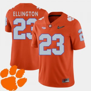 2018 ACC Orange Andre Ellington Clemson Jersey Mens College Football #23 939098-353