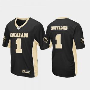 #1 Football Max Power Men's Colorado Jersey Black 795665-973
