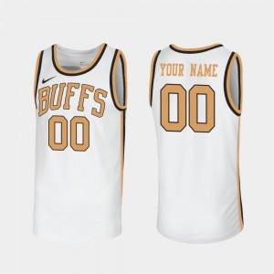 Colorado Customized Jersey Sox Walseth-Era White Men #00 Throwback 812747-875