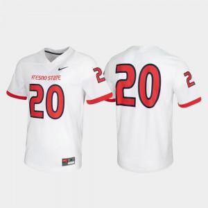 Game White Fresno State Jersey Untouchable #20 Mens 929472-429