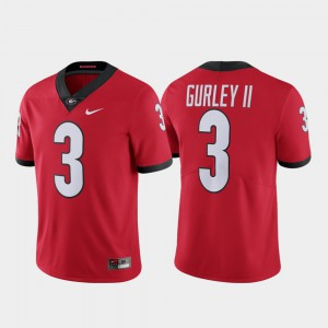 Alumni #3 Todd Gurley II UGA Jersey Limited Men Red 701597-551