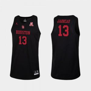 Black College Basketball Replica Men #13 Dejon Jarreau Houston Jersey 630717-272
