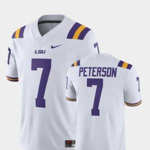 Patrick Peterson LSU Jersey Mens #7 White Player Alumni Football Game 451760-298