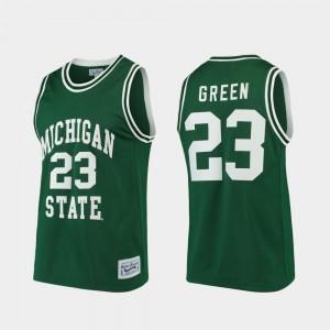 Green College Basketball Draymond Green MSU Jersey Men #23 Alumni Limited 718254-640