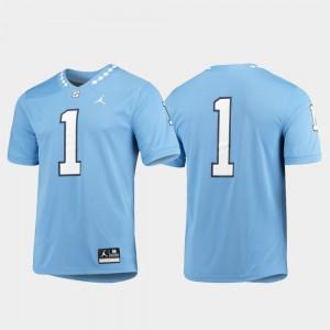 UNC Jersey For Men's Carolina Blue Game #1 465895-535