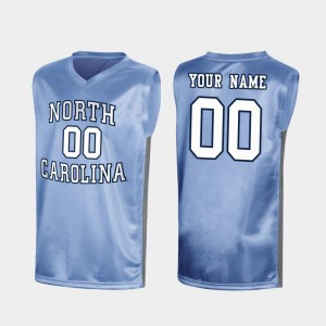 UNC Custom Jersey March Madness #00 Men Special College Basketball Royal 610463-894