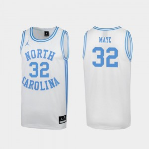 #32 Special College Basketball White March Madness Luke Maye UNC Jersey Mens 918985-249
